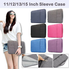 """For Macbook Air Pro 11"""" 12"""" 13"""" 15"""" Notebook Laptop Sleeve Case Carry Cover Bag"""
