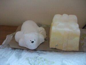 Lush Polar Bear Plunge Bubble Bar & Lush Golden Wonder Bath Bomb NEW
