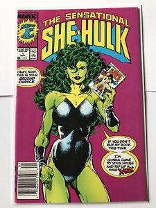 The Sensational She-Hulk 1, Marvel Comics 1989, John Byrne, Newsstand