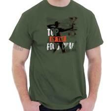 Deer Hunting Shirt Buck Food US Gun Outdoor Sporting Good USA T Shirt