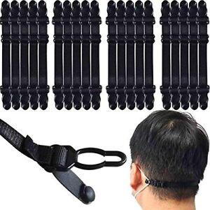 [20PCS] Adjustable Face Mask Extender Strap Hook   Mask Holder   Mask Buckle