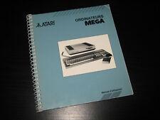 ATARI Mega - Manuel d'utilisation en Français (Complet)