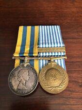 Military Medal - Canada - Korean War - set awarded to SF L4024 B. Doner