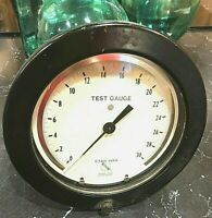 "ASHCROFT Test Gauge 0-30 0.1 Psi Subd Bronze Tube Brass Socket  7 1/2"""