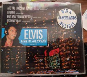 RARE ELVIS CD ARE YOU LONESOME TONIGHT UK 1991 RARE GRACELAND[S] TRIP INSERT STK
