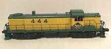 Weaver Trains Reading RS-3 #444 Diesel Locomotive, Yellow/Green