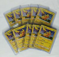 Lot of (10) Pokemon Pikachu General Mills 25th Anniversary holo foil  Promo