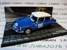 RIT53M voiture 1/43 IXO Altaya Rallye CITROËN DS 21 MONTE CARLO 1966 Toivonen