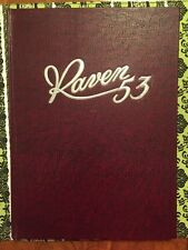 """1953 Carleton College Yearbook """"Raven"""" Now Carleton University Ottawa, Canada"""