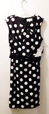 Studio I $70.00 Polka Dot Dress with Belt - Women's Size 16 - New With Tags!