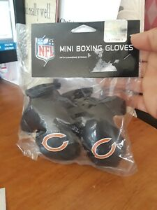 Chicago Bears NFL Mini Boxing Gloves Rear view Mirror Auto Car