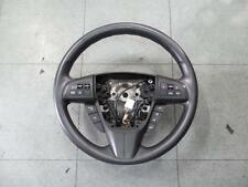 MAZDA 3 STEERING WHEEL BL, W/ STEREO/CRUISE CONTROL, NON BLUETOOTH TYPE, 04/09-0