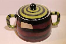Formenton Creations San Polo Italy A/1 sugar bowl italian pottery vintage