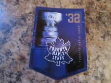 2012-13 Panini Molson Canadian Stanley Cup Collection 1932 TORONTO MAPLE LEAFS