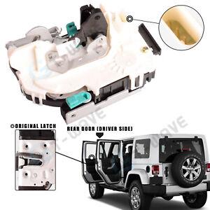 NEW for 07-18 Jeep Wrangler JK Rear Left Side Door Lock Actuator 4589049AL
