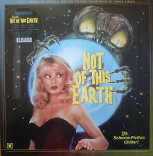 Chuck Cirino - Not Of This Earth OST LP Terror Vision records Traci Lords Vinyl
