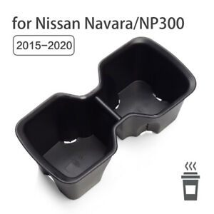 Water Cup Holder Storage Box for Nissan Navara NP300 2015-2020 Accessories PVC