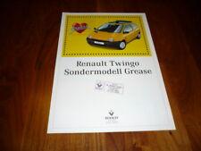 Renault Twingo GREASE Prospekt 09/1996