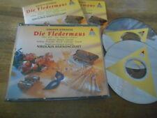 CD Klassik Harnoncourt - Strauss : Fledermaus 2CD (24 Song) TELDEC jc/box