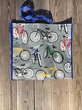 TJ Maxx Shopping Bag Bicycles Reusable Travel Tote NWT