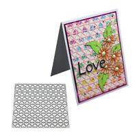 Stanzschablone Herz Hintergrund Weihnachten Geburtstag Hochzeit Karte Album Deko