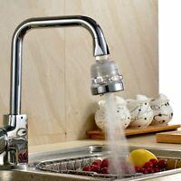 360° 3 Modes Kitchen Saving Tap Head Water Faucet Extender Sprayer Sink Aerator