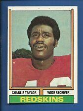 1974 Topps # 510 Charlie Taylor  HOF  Wash Redskins  EX/MT additional ship free
