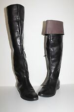 KENNEL SCHMENGER K&S LEDER Damen STIEFEL 37 Leather BOOTS OVERKNEE OVERKNEES
