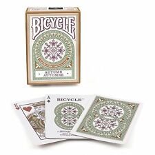2 Decks Bicycle Autumn Design Copper Standard Poker Playing Cards New Decks