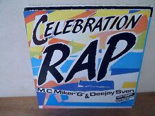 """EP 12"""" MAXI - M.C. MIKER """"G"""" & DEEJAY SVEN - Celebration rap - EX/EX"""