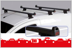 Set 3 Roof Bars Atlantic Steel With Set Mounts Renault Kangoo 2008->