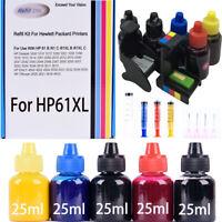For HP 61/62/63/64/65/67/910/962 Ink Refill Kits For HP Envy/Deskjet /OfficeJet