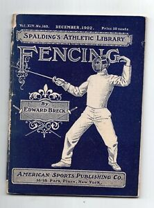 1902 Spalding Fencing Guide/Sporting Goods Catalog
