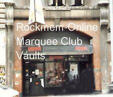 Sinceros Marquee Club Invoice dtd 25/9/80