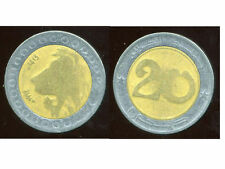 ALGERIE  ALGERIA 20 dinars 1992  ANM  ( bis )