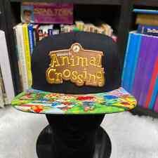 "NINTENDO ANIMAL CROSSING SNAPBACK HAT 2017 ""NWT"""