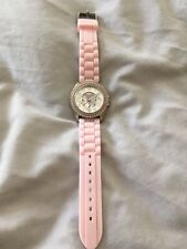 GUESS Pink crystal watch, fabulous condition.