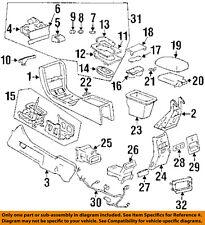 Cadillac GM OEM 96-02 Eldorado CENTER CONSOLE-Auto Transmission Control 25636880