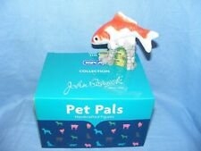 More details for john beswick goldfish jbdp3 new boxed figurine birthday present gift rspca pet