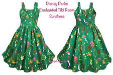 NWT! Disney Parks Enchanted Tiki Room Sundress Women PLUS 2X 2XL 26W-28W