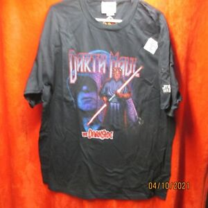 Vintage 1999 Star Wars Episode 1 Darth Maul the dark side T Shirt X-Large NOS