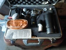 Canon AE1 Program 35mm SLR Film Camera halliburton case with 2 lenses and extras