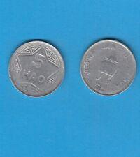 Asie Asian Coin Vietnam 5 Hao ( 1/2  Piastre ) Aluminium 1946 Valeur en creux