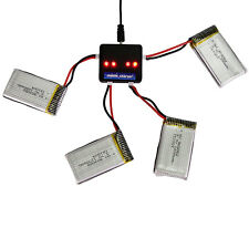 4x Syma X5SW X5SC RC Quadcopter Part 3.7V 1200mAh 25C Lipo Battery + Charger Set