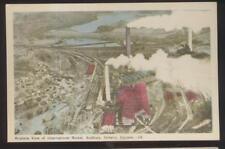 Postcard SUDBURY Ontario/CANADA  International Nickle Factory Aerial view 1930's