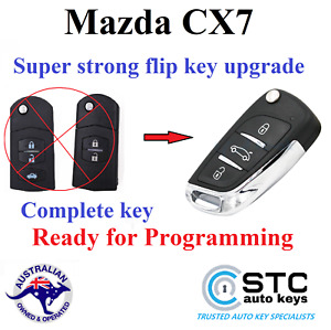 MAZDA CX-7 CX 7 CX7  REMOTE KEYLESS ENTRY TRANSPONDER FLIP KEY FOB 2006 - 2015