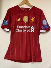 Liverpool FC home jersey- Premier League- Champions League - 2020