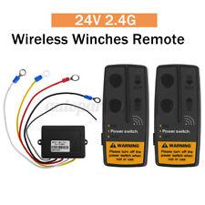2.4G 100ft 24V Télécommande Sans fil électrique Recepteur Treuil pour Jeep SUV