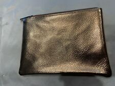 Bare Minerals Gold Makeup Bag 7 1/2 X 5 1/2 inches Beauty Case