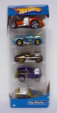 HOT WHEELS BIG BLOCKS 5-PACK Gift Set Die-Cast Cars MISB 2005